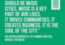 Music cities: Convocatoria de ponentes